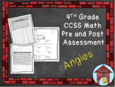 Angles Assessment CCSS Aligned