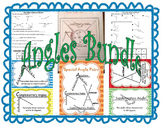 Angles Bundle includes Special Angle Pairs and Reflex Angles SOL(2016) 8.5