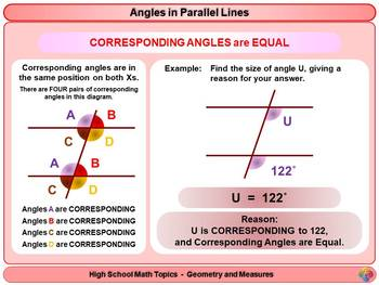 Angles: Calculating Angles for High School Math