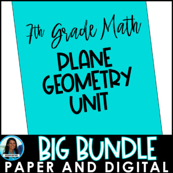 Angles, Circles, and Plane Geometry Big Bundle