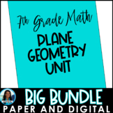 Angles, Circles, and Plane Geometry Big Bundle