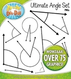 Every 5 Degrees Angles Clipart {Zip-A-Dee-Doo-Dah Designs}