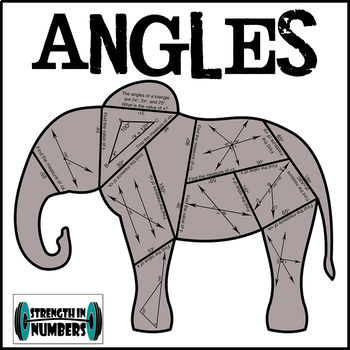 Angles Cooperative Elephant Puzzle for Display