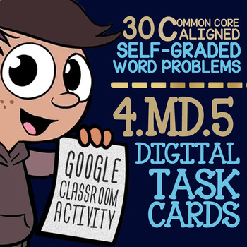 Angles: Degrees of a Circle ★ Measuring Angles in Google Classroom ★ Math 4.MD.5