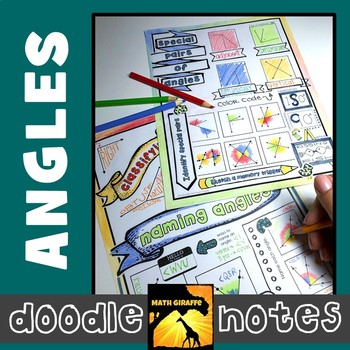 Angles Doodle Notes