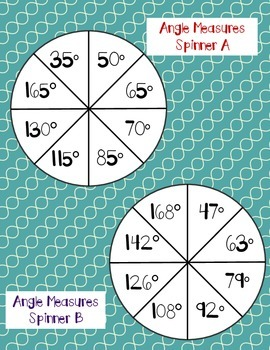 Angles: Drawing and Measuring Activity Set