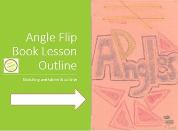 Angles Flip Book Project - Graphic Organizer - Interactive Notebook