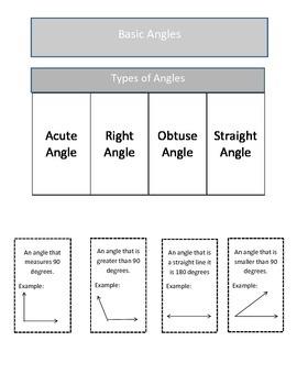 Angles: Geometry Bundle Pack