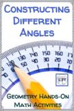 Constructing Different Kinds of Angles: Geometry Hands-On Math Activities