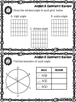Angles, Geometry, & TN READY Review