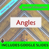 Angles:  Geometry Unit for Special Ed with lesson plans