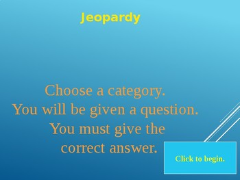 Angles Go Math Jeopardy Game