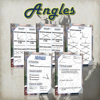 Angles - (Guided notes and Practice)