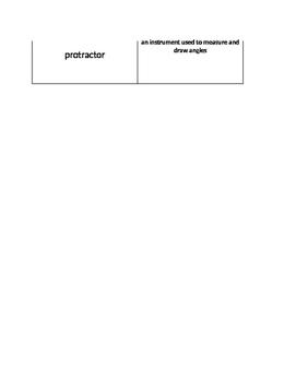 Angles Interactive Matching Vocab Sort