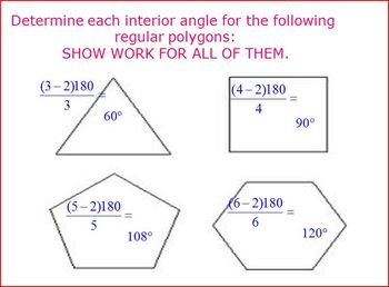 Angles Interior/Exterior of Polygons (PP)