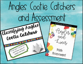 Classifying Angles and Lines Cootie Catcher AND Assessment