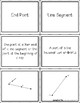 Angles & Lines Vocabulary Sort