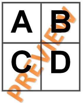 Angles, Lines, and Symmetry Letter Game