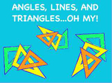 Angles, Lines, and Triangles Flipchart