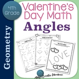 Valentine's Day Math Angles Activities