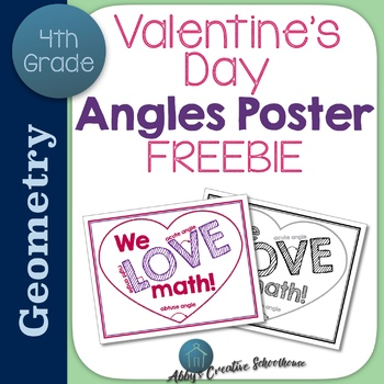 Angles Math Poster FREE