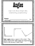Angles Mini Book