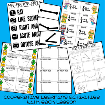 Angles Mini Unit - 4th Grade Math - Everything But the Dice
