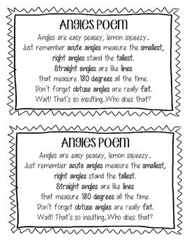 Angles Poem