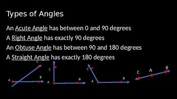 Angles - PowerPoint Lesson (1.3)