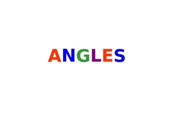 Angles Powerpoint