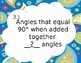 Angles Powerpoint/Scoot/Task Cards