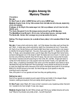 Angles Readers Theater