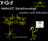 Smartboard Math Lessons and Activities - Angle Relationships 8.G.5