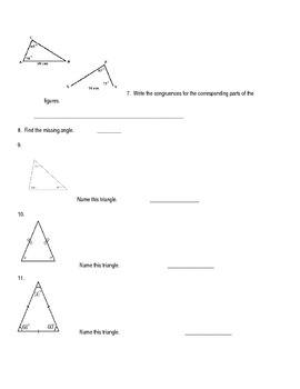 Angles Review Worksheet