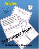 Angles Scavenger Hunt - Challenging