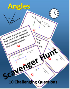 Angles Scavenger Hunt - Challenging
