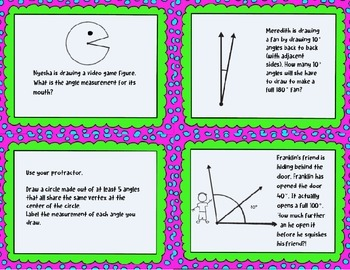 Angles Scoot/Task Cards