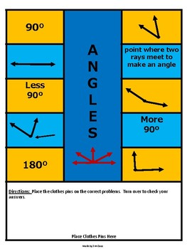 Angles Self Checking Game and Center