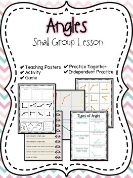 Angles Small Group Lesson
