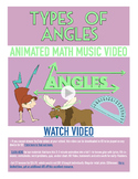 Angles, Types of | Acute, Right, Obtuse | FREE Poster, Worksheet, & Fun Video |