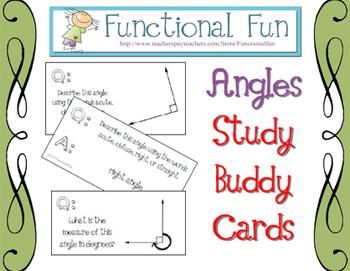 Angles Study Buddy Cards