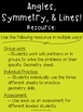 Angles, Symmetry, & Lines - Geometry