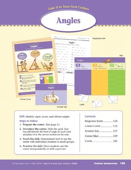 Angles (Take It to Your Seat Centers Common Core Math)
