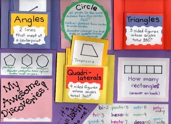 Math - Angles, Tangles & Other Awesome Figures
