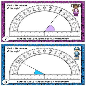 Angles Task Cards