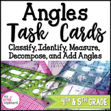 Angles Task Cards - Classify, Identify, Measure, Decompose