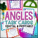 Angles Task Cards | Distance Learning | Google Classroom
