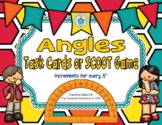 Angles Task Cards or SCOOT Game