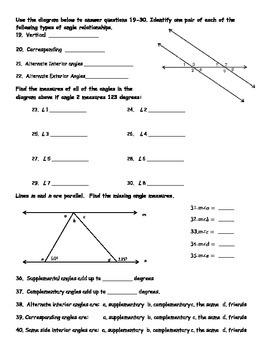 Angles Test