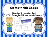 Angles Test (Go Math Chapter 11 4th Grade)